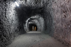 Salt mine from Praid, Romania Royalty Free Stock Images