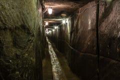 Salt Mine. In Romania, Cacika Stock Photography