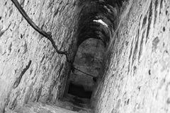 Salt mine tunnel Royalty Free Stock Image