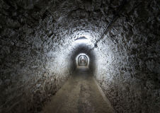 Salt mine from Turda, Romania Stock Photos