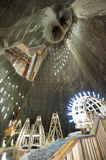 Salt Mine in Turda, Romania Stock Photos