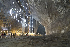 Salt mine, Turda Royalty Free Stock Image