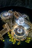 Salt Mine in Turda, Romania Royalty Free Stock Image