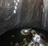 Salt mine. Turda salt mine for tourism Stock Photo