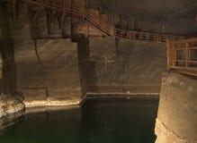 Salt mine Wieliczka Stock Photo