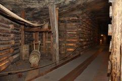Salt mine Wieliczka Stock Photos