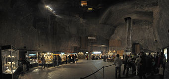 Salt mine Wieliczka Royalty Free Stock Image
