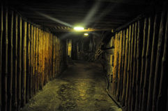 Salt mine Wieliczka Royalty Free Stock Images
