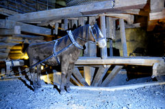 Salt mine Wieliczka Royalty Free Stock Photos