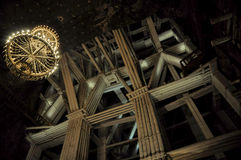 Salt mine Wieliczka Royalty Free Stock Photos