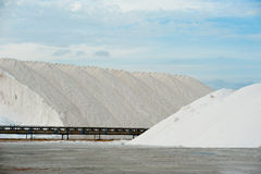 Salt mines Stock Photo