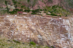 Salt mines near Cuzco Stock Photography