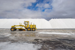 Salt mining Stock Images