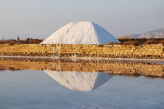 Salt mountain Stock Image