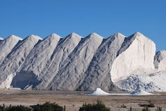 Salt Mountain Stock Photo