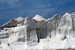 Salt mountain 3. Salt mountain in a east of Majorca in Spain royalty free stock photos