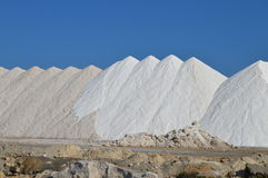 Salt Mountain - Snow Alps Food Industry Processing  Stock Images