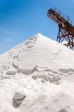 Salt Mountain Stock Image