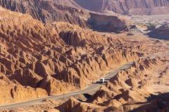 Salt Mountain Range, San Pedro de Atacama (Chile) Stock Photo
