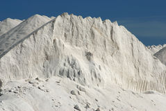 Salt mountains 2. A salt mountain in Spain Stock Images