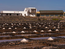 The Salt Museum in Fuerteventura, Canary Islands Stock Image
