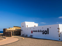 Salt Museum in Fuerteventura, Canary Islands Royalty Free Stock Photography
