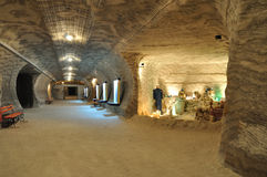 Salt museum (Underground) Stock Photos