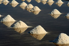 Salt pan Royalty Free Stock Image