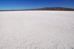 Salt pan in the atacama desert in Chile Stock Image