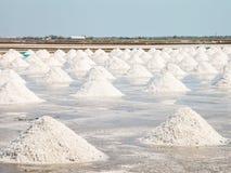 Salt pan Royalty Free Stock Photography