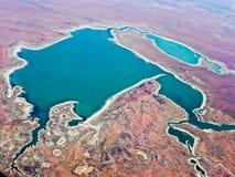 Salt Pan Western Australia Royalty Free Stock Photos