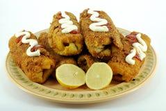 Salt pancake Royalty Free Stock Images
