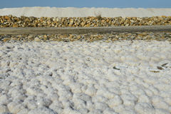 salt pannor Arkivfoto
