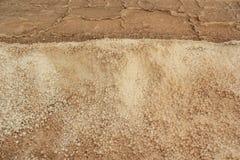 Salt panorera royaltyfria foton