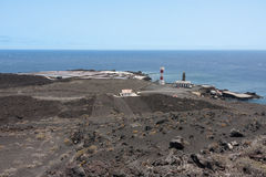 Salt pans of Fuencaliente at La Palma, Canary islands Royalty Free Stock Photos