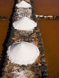 Salt Pans, Fuerteventura, Canary Islands Stock Photography