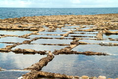 The Salt Pans Royalty Free Stock Photography