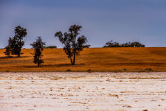 Salt Pans Stock Image