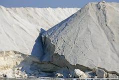 Salt pans of Salin de Giraud, Arles (Commune), Bouche-du-Rhône Royalty Free Stock Photo