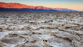 Salt Pans at Sunrise royalty free stock photography