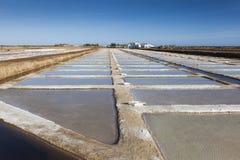 Salt Pans, Tavira, Algarve Royalty Free Stock Photos