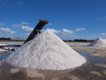 Salt Pans in Trapani. Salinas - Salt Pans in Trapani - Marsala royalty free stock images
