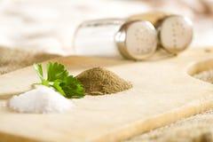 salt peppar Arkivbild