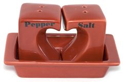 salt peppar Arkivfoton