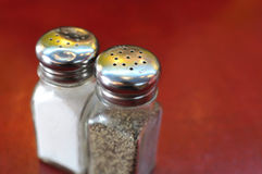 Salt and pepper Royalty Free Stock Photography
