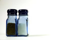 Salt and Pepper. Shakers Royalty Free Stock Photo