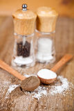 Salt and pepper Stock Photos