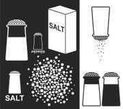 Salt. Pepper Royalty Free Stock Images