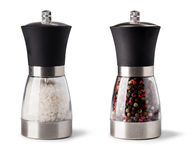 Salt and pepper grinder Stock Images