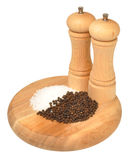Salt And Pepper Grinder Royalty Free Stock Photography